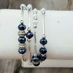 Beautiful handmade wrap bracelet